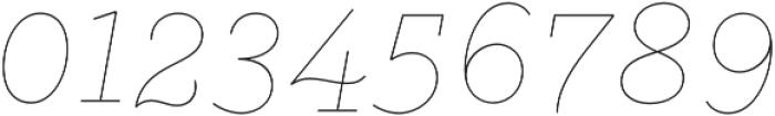 Gist Line Bold otf (700) Font OTHER CHARS