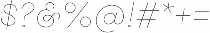Gist Line Light otf (300) Font OTHER CHARS