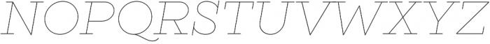 Gist Line Light otf (300) Font UPPERCASE