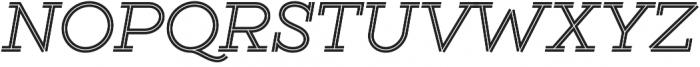 Gist Regular otf (400) Font UPPERCASE