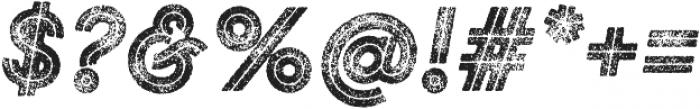 Gist Rough Black Three otf (900) Font OTHER CHARS