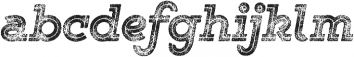 Gist Rough Black Three otf (900) Font LOWERCASE