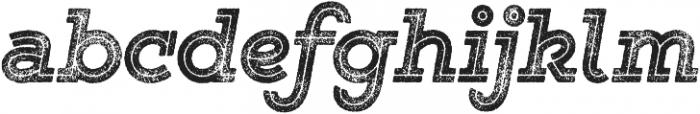 Gist Rough Black Two otf (900) Font LOWERCASE