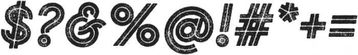 Gist Rough Black otf (900) Font OTHER CHARS