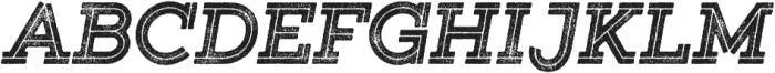 Gist Rough Black otf (900) Font UPPERCASE