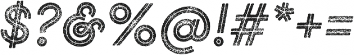 Gist Rough Bold Two otf (700) Font OTHER CHARS