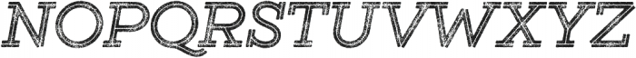 Gist Rough Bold Two otf (700) Font UPPERCASE