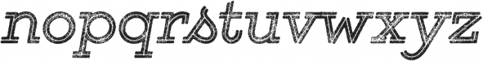 Gist Rough Bold Two otf (700) Font LOWERCASE