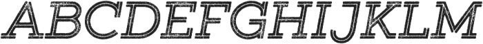 Gist Rough Bold otf (700) Font UPPERCASE