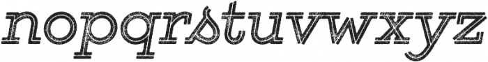 Gist Rough Bold otf (700) Font LOWERCASE