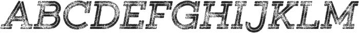 Gist Rough Exbold Three otf (700) Font UPPERCASE