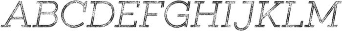 Gist Rough Light Three otf (300) Font UPPERCASE