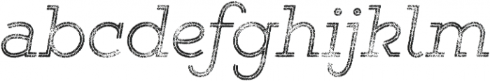 Gist Rough Light Three otf (300) Font LOWERCASE