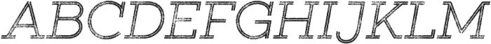 Gist Rough Light Two otf (300) Font UPPERCASE