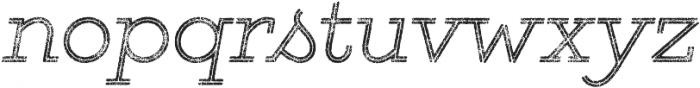 Gist Rough Light Two otf (300) Font LOWERCASE