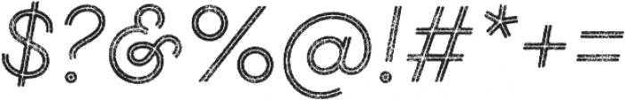 Gist Rough Light otf (300) Font OTHER CHARS