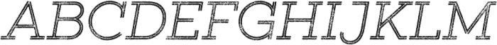 Gist Rough Light otf (300) Font UPPERCASE