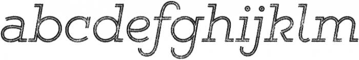 Gist Rough Light otf (300) Font LOWERCASE