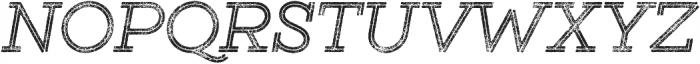 Gist Rough Regular Two otf (400) Font UPPERCASE
