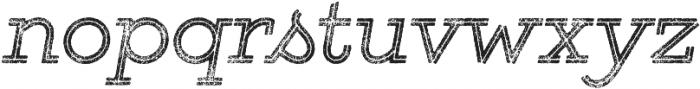 Gist Rough Regular Two otf (400) Font LOWERCASE