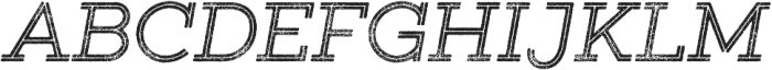 Gist Rough Regular otf (400) Font UPPERCASE