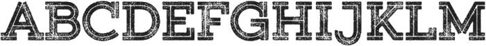 Gist Rough Upright Black Two otf (900) Font UPPERCASE