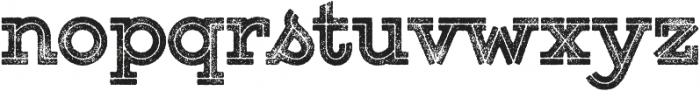 Gist Rough Upright Black Two otf (900) Font LOWERCASE