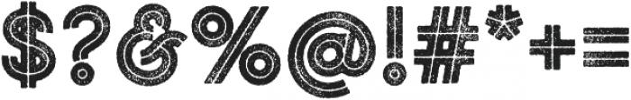 Gist Rough Upright Black otf (900) Font OTHER CHARS