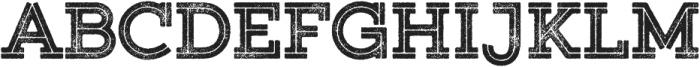 Gist Rough Upright Black otf (900) Font UPPERCASE