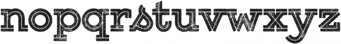 Gist Rough Upright Black otf (900) Font LOWERCASE