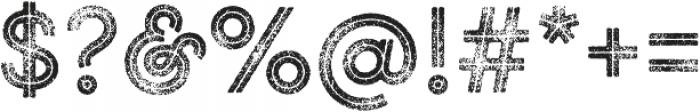 Gist Rough Upright Bold Three otf (700) Font OTHER CHARS