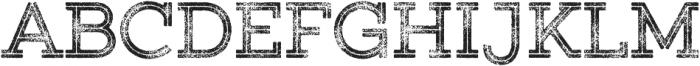 Gist Rough Upright Bold Three otf (700) Font UPPERCASE