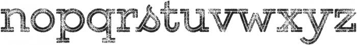 Gist Rough Upright Bold Three otf (700) Font LOWERCASE