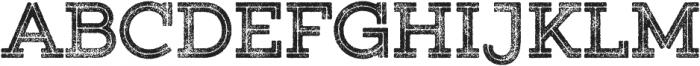 Gist Rough Upright Extrabold Two otf (700) Font UPPERCASE