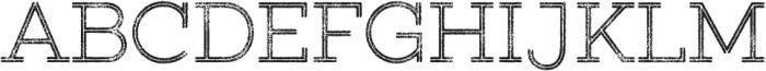Gist Rough Upright Light otf (300) Font UPPERCASE