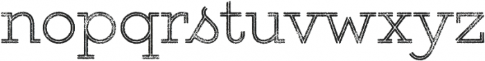 Gist Rough Upright Light otf (300) Font LOWERCASE