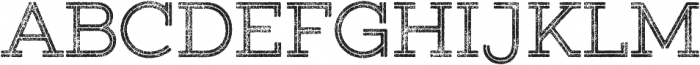 Gist Rough Upright Regular Two otf (400) Font UPPERCASE