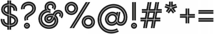 Gist Upright Bold otf (700) Font OTHER CHARS
