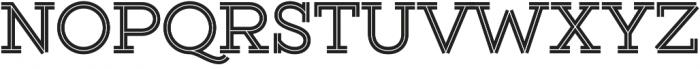 Gist Upright Bold otf (700) Font UPPERCASE