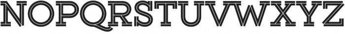 Gist Upright Extrabold otf (700) Font UPPERCASE