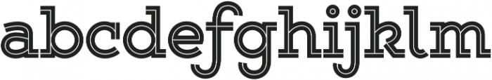 Gist Upright Extrabold otf (700) Font LOWERCASE