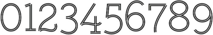 Gist Upright Light otf (300) Font OTHER CHARS