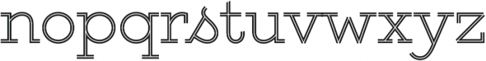Gist Upright Light otf (300) Font LOWERCASE