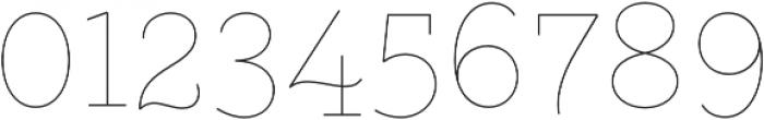 Gist Upright Line Light otf (300) Font OTHER CHARS