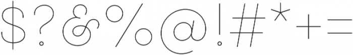 Gist Upright Line Regular otf (400) Font OTHER CHARS