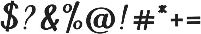Gitanes otf (400) Font OTHER CHARS