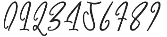 Githa Lovely Regular otf (400) Font OTHER CHARS