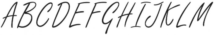 Githa Lovely Regular otf (400) Font UPPERCASE