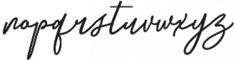 Githa Lovely Regular otf (400) Font LOWERCASE