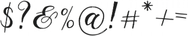 Giulietta C otf (400) Font OTHER CHARS
